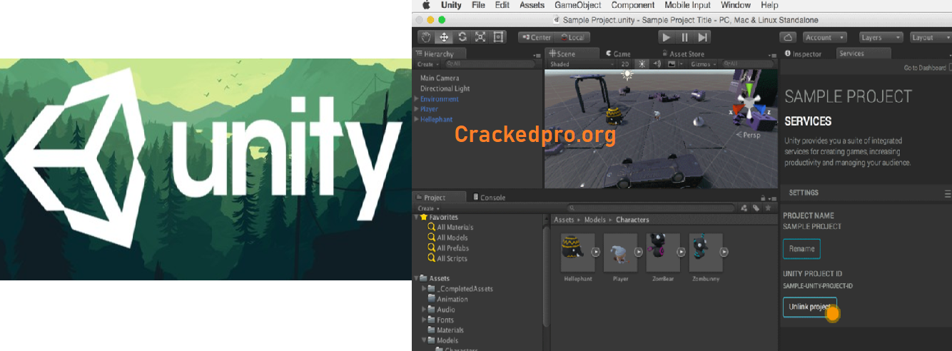 Unity Crack Free Download