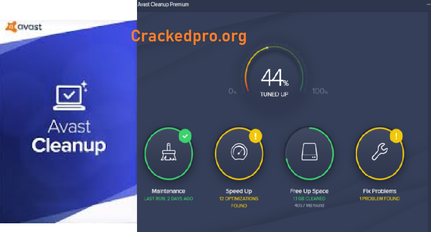 Avast Cleanup Crack Free Download