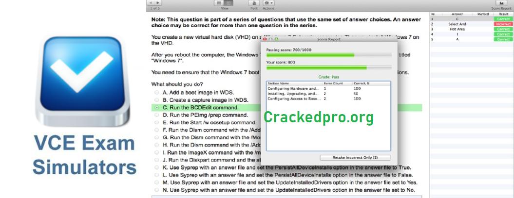 Vce Software Crack