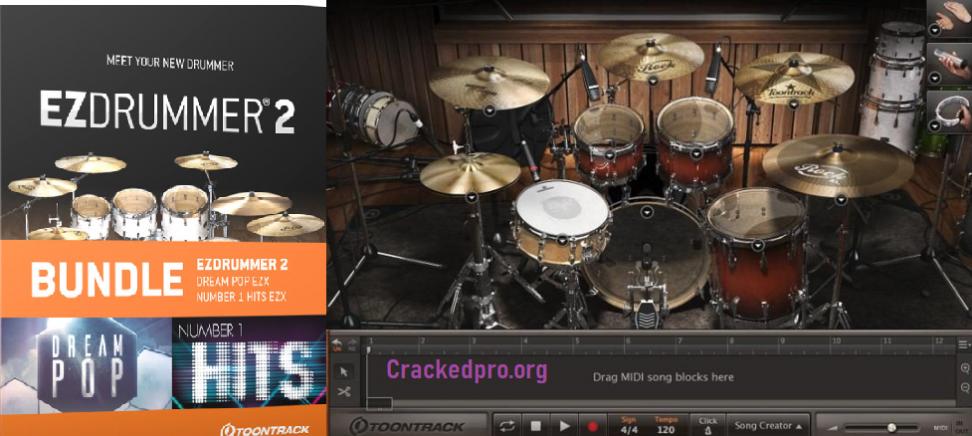EZdrummer Crack Free Download