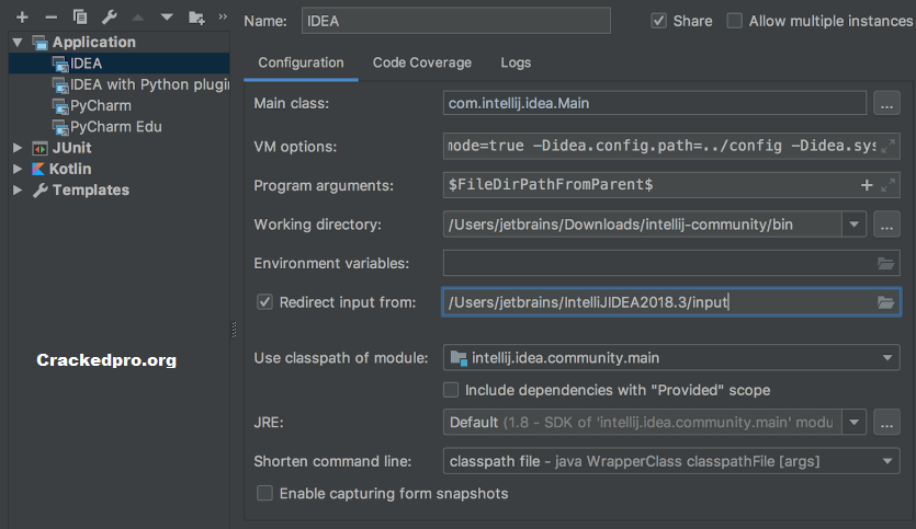 IntelliJ IDEA Key